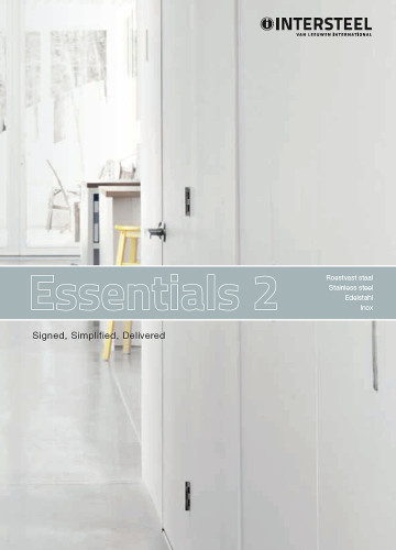 Intersteel Catalogus - RVS deurbeslag en toebehoren - Essentials II