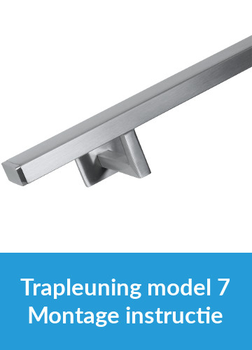 Montage instructie - Trapleuning model 7