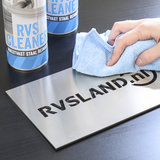 RVS Cleaner Spray, 500 ml - Toepassing