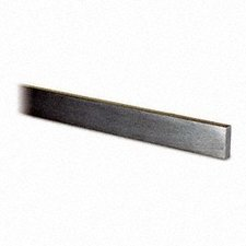 Strip 15 x 5 mm, RVS304, K320 geslepen, 2500 mm