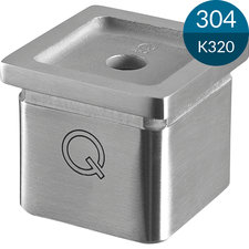 Adapter 40 x 40 x 2.0 mm, RVS