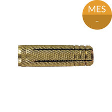 Plug M6 x 22 mm, Messing