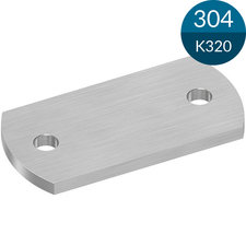 Ankerplaat 100 x 50 x 6 mm, RVS