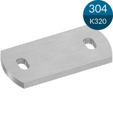 Ankerplaat 120 x 60 x 6 mm, RVS