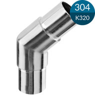Knie 48.3 x 2.0 mm, 135 gr, RVS